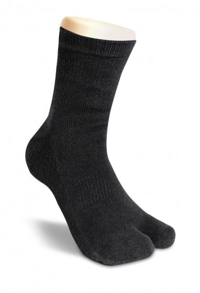 Zwei-Zehen Tabi Socke