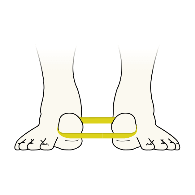 Toega ist Zehen-Yoga und fördert sowohl die Beweglichkeit als auch die Kraft deiner Füße.