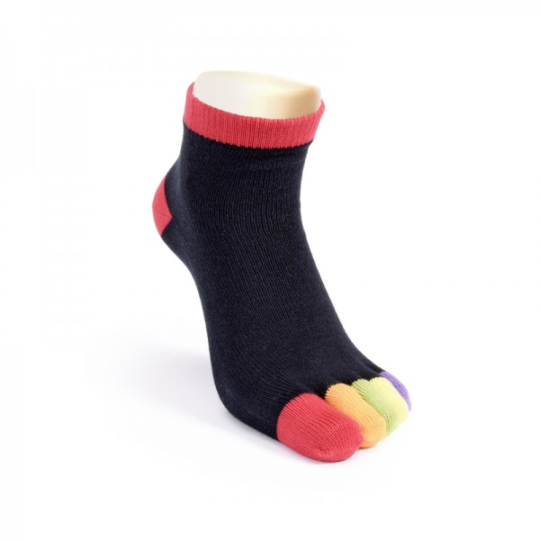 Zehensocken Rainbow