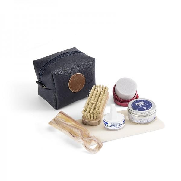 Schuhpflege-Set (Dunkelblau)
