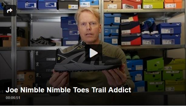 Barfußlaufschuh Joe Nimble NimbleToes